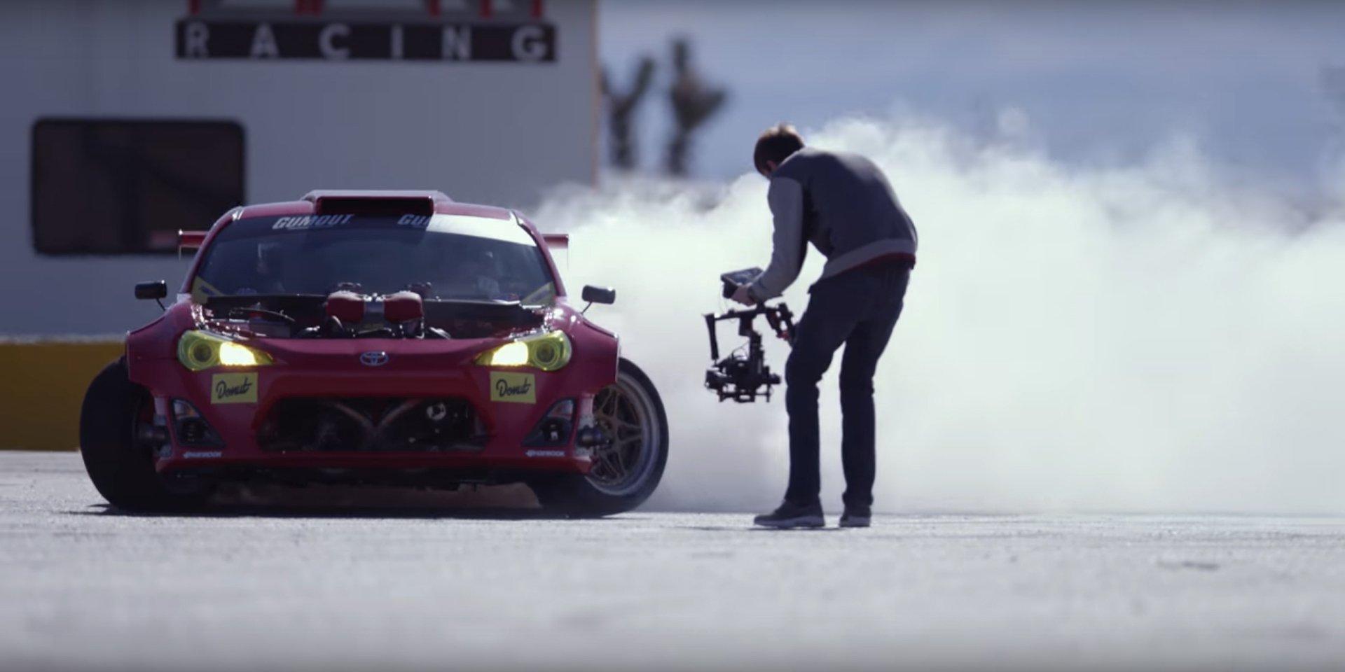 Toyota GT4586 Drift