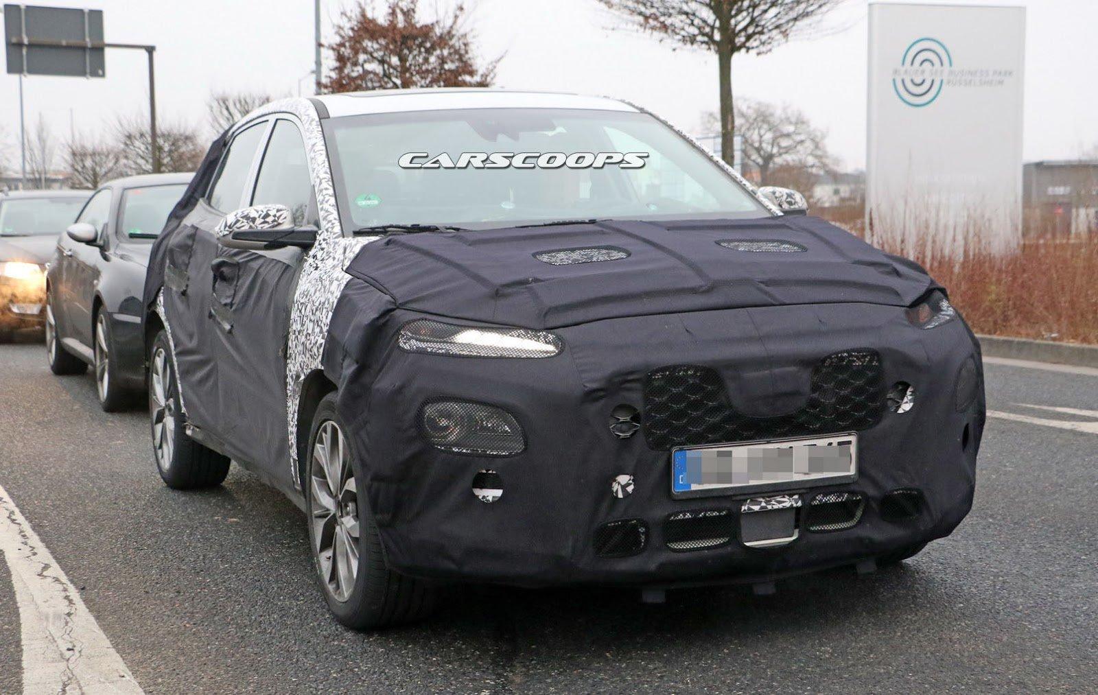 Hyundai SUV Spyshot