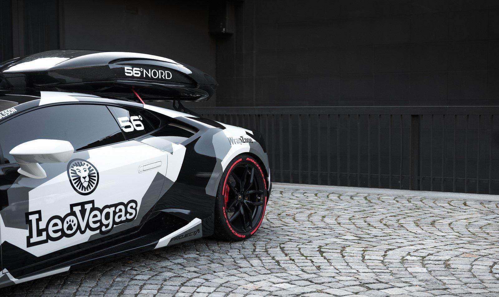 Lamborghini Huracan Jon Olsson