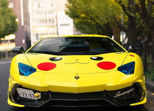 Lamborghini Aventador Pikachu