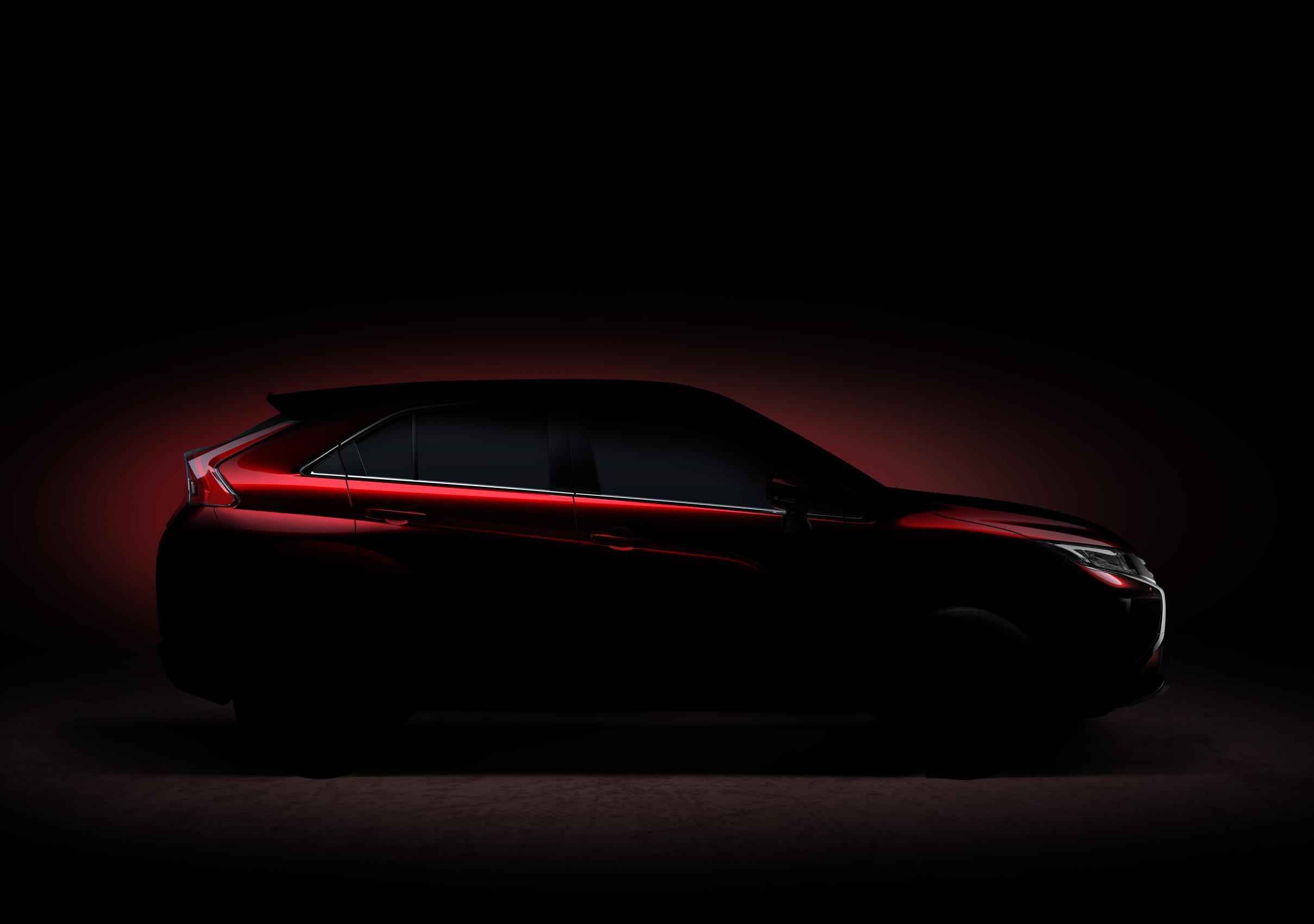 Mitsubishi Eclipse teaser 2017