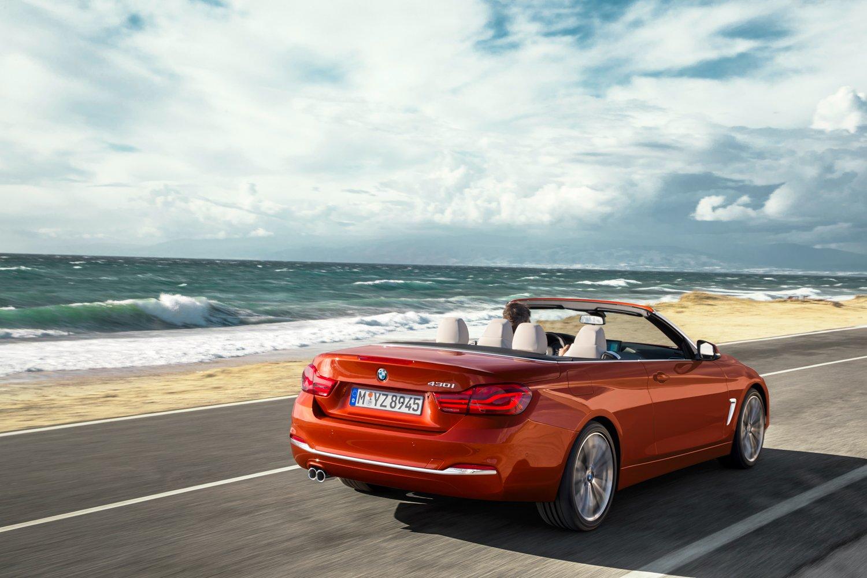 2018 BMW Serii 4 Cabrio