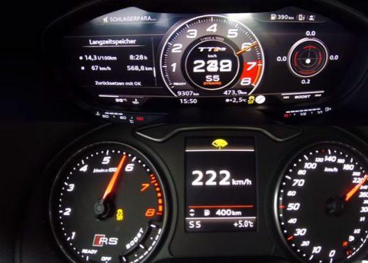 Audi RS3 vs TT RS