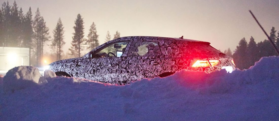 Audi Q8 Spyshot