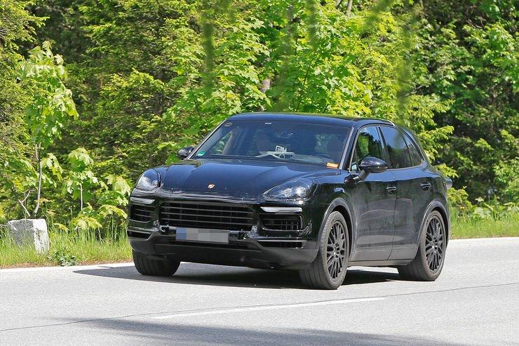 Porsche Cayenne 2018 spy
