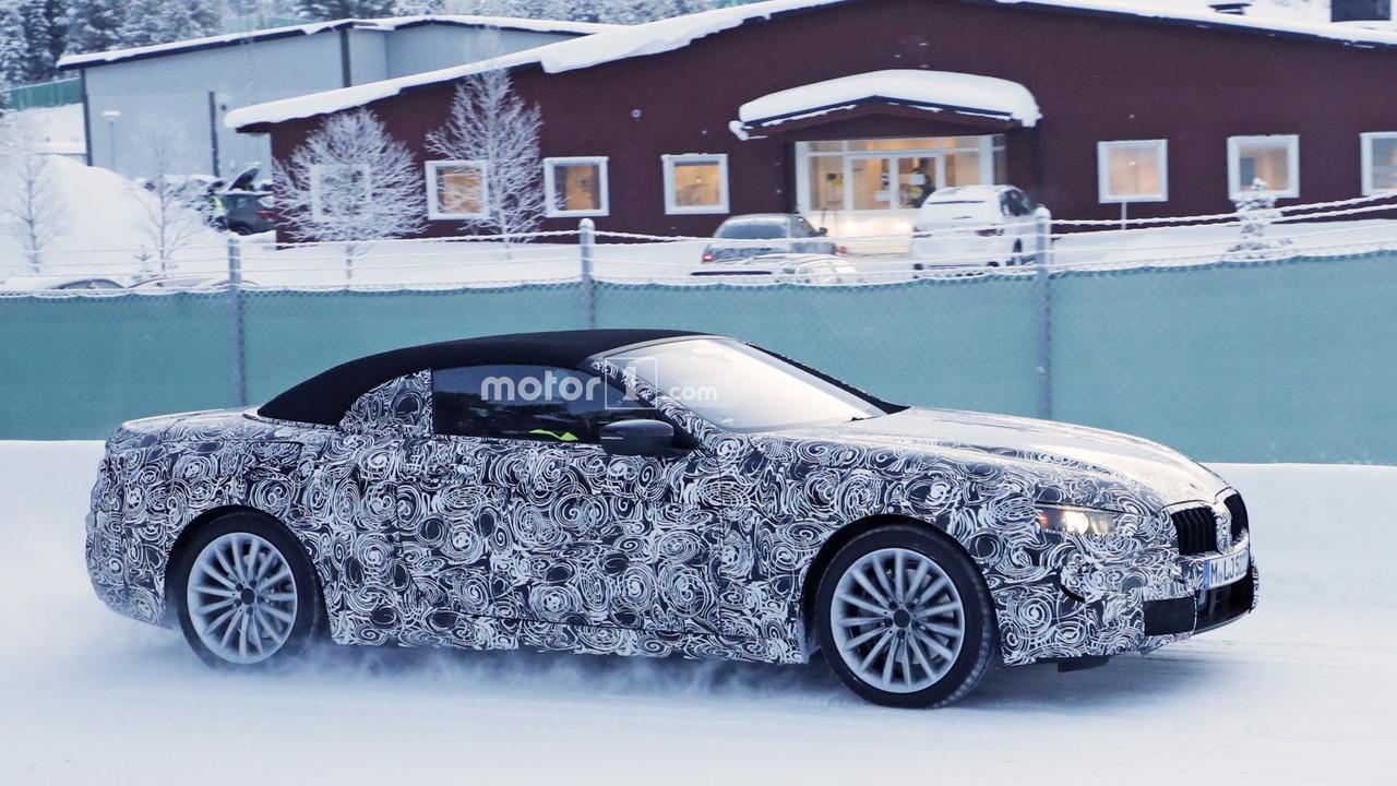 BMW serii 6 Cabrio 2018 szpiegowskie