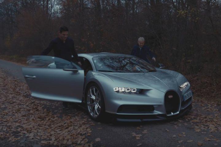 Bugatti Chiron ride