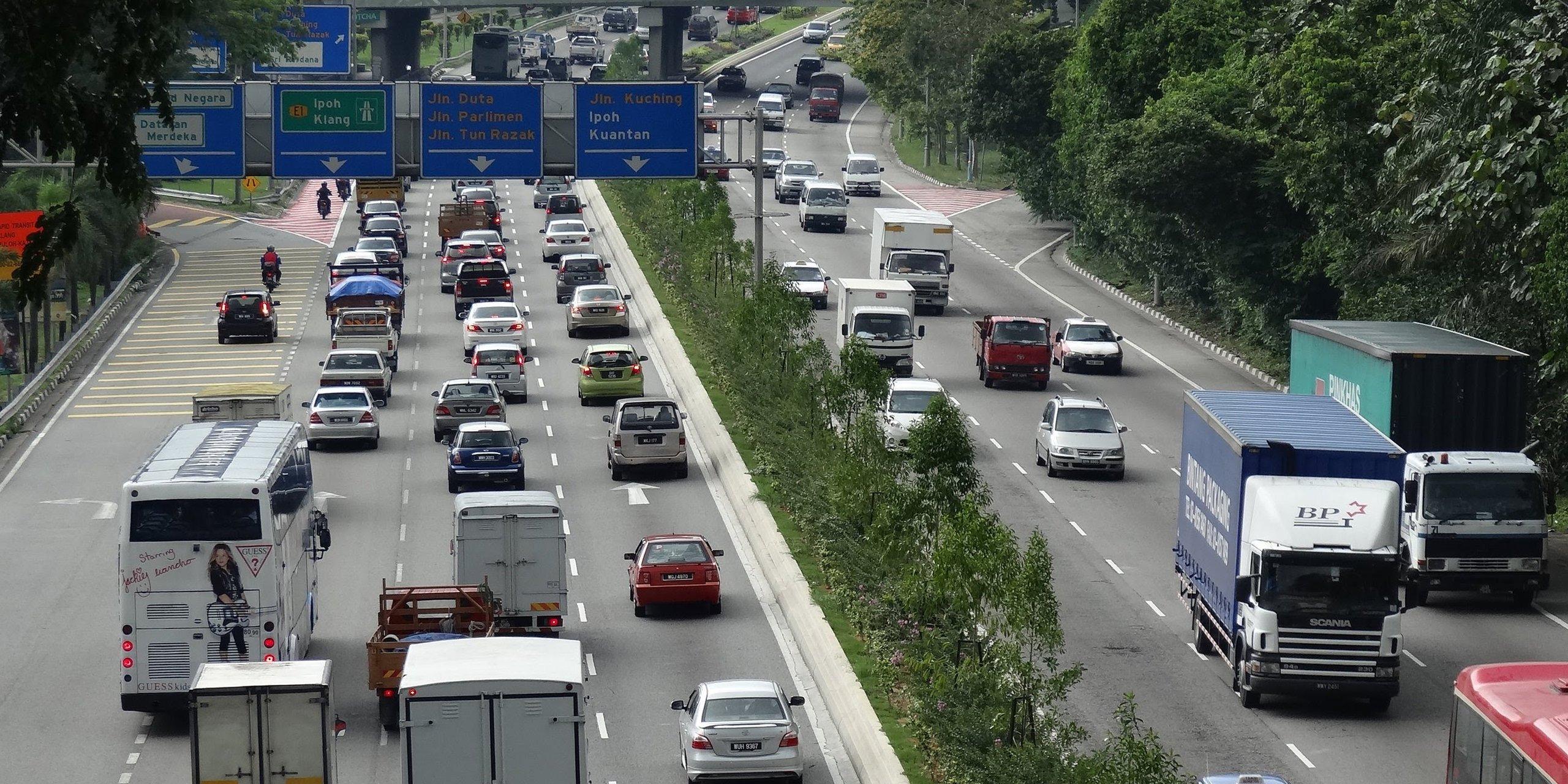 Autostrada w Malezji