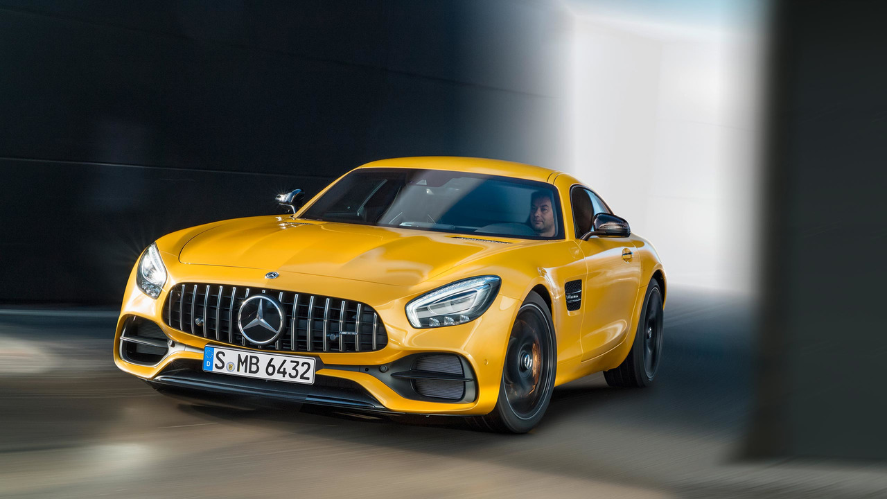 Mercedes AMG GT S 2018