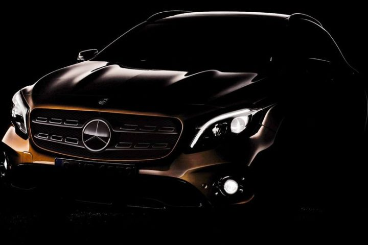 Mercedes-Benz GLA Facelift 2017