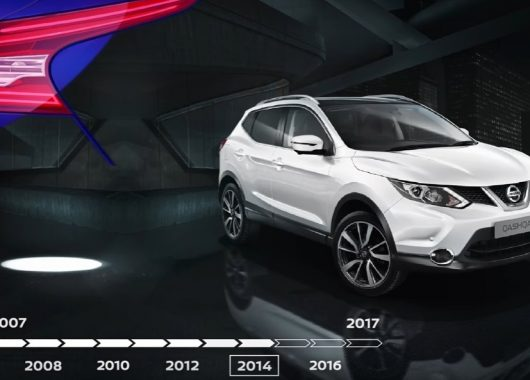 Nissan Qashqai 10 years