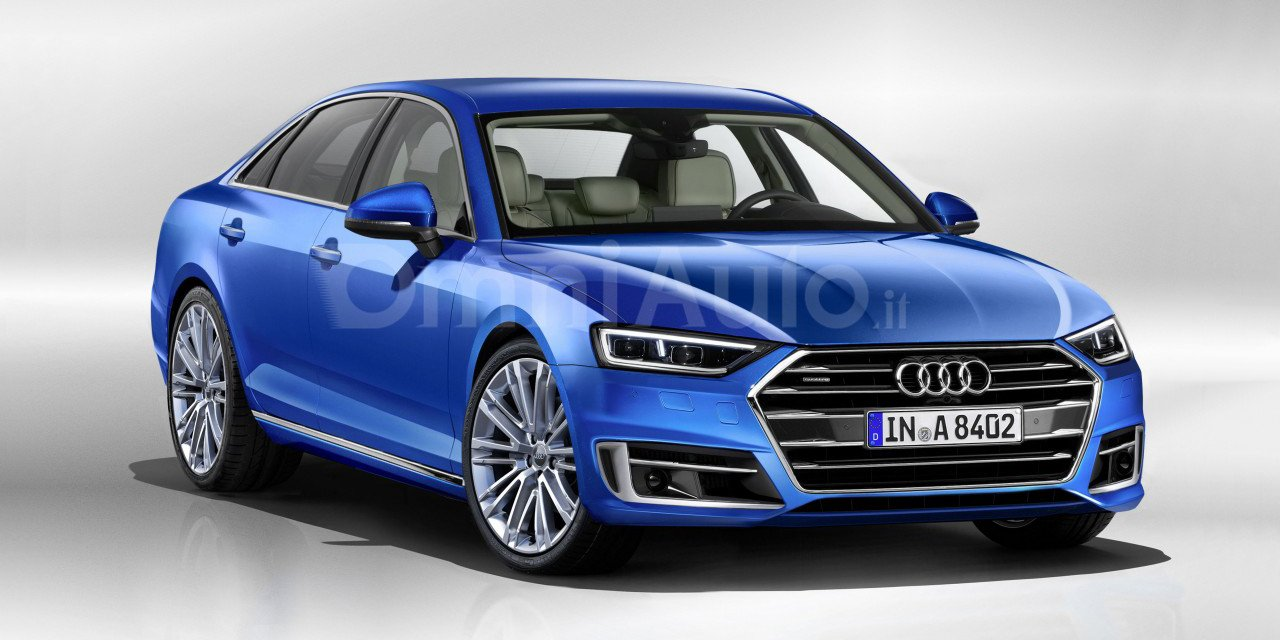 Audi A8 rendering