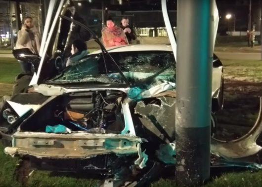 Jon Olsson Lamborghini Murcielago Crash