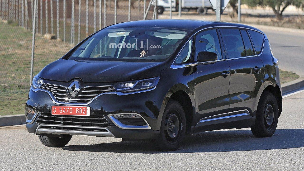 Muł testowy Renault Espace