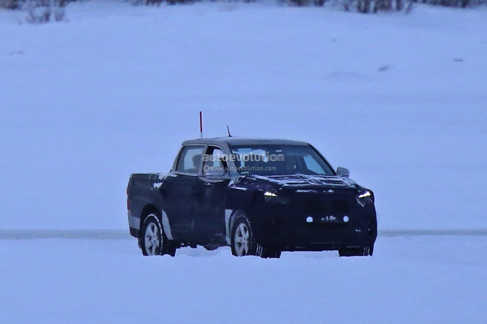 SsangYong Q200 Pickup spy