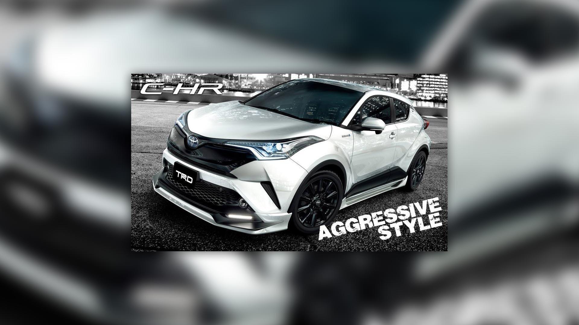 Toyota CH-R TRD Aggressive Style