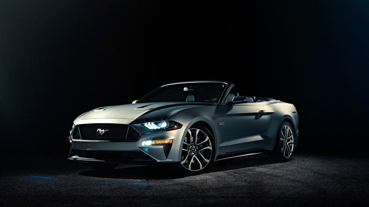 Ford Mustang Cabrio 2018 Facelift