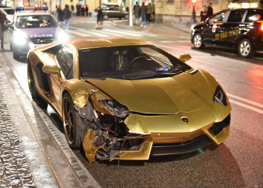 Złote Lamborghini