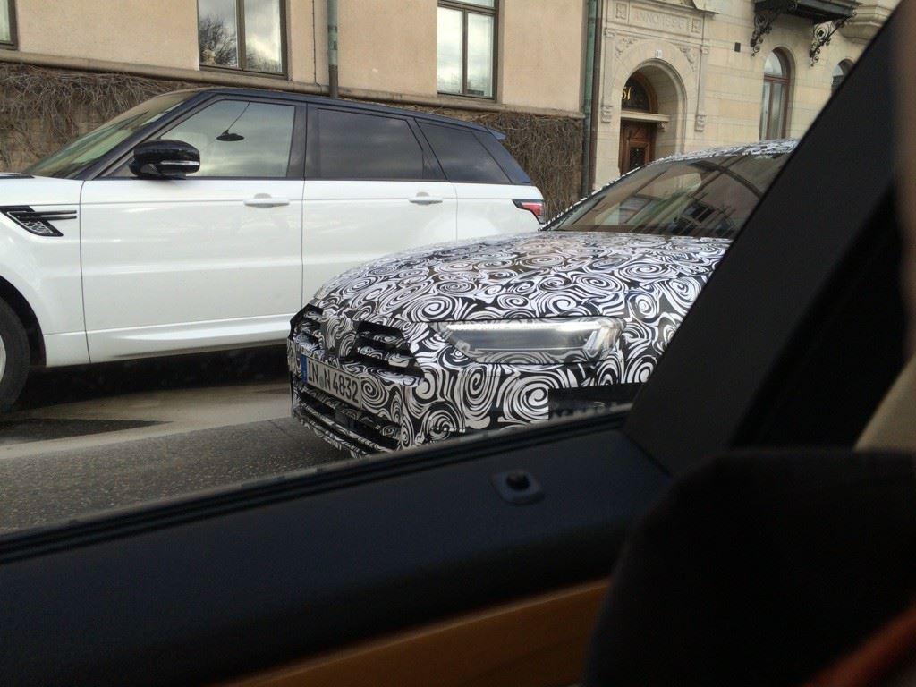 Audi A8 2018 spy shots