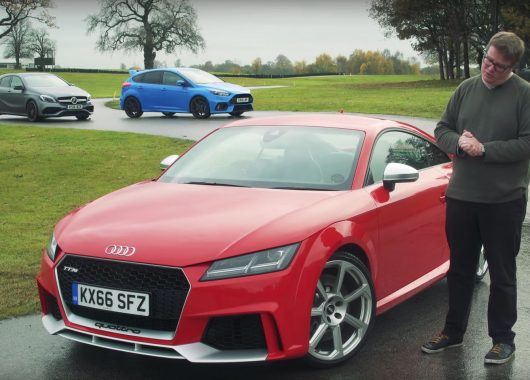 Audi TT RS vs. Mercedes-AMG A45 vs. Ford Focus RS