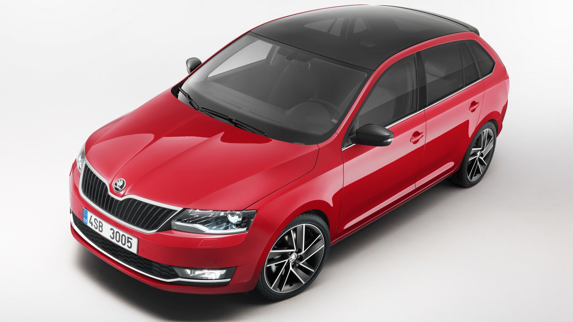 2017 Skoda Rapid Spaceback facelifting