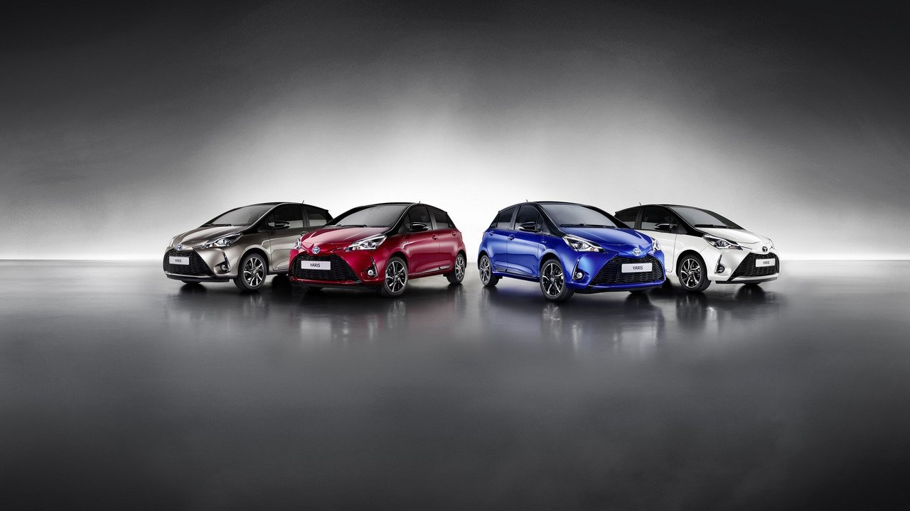 Toyota Yaris 2017 facelift