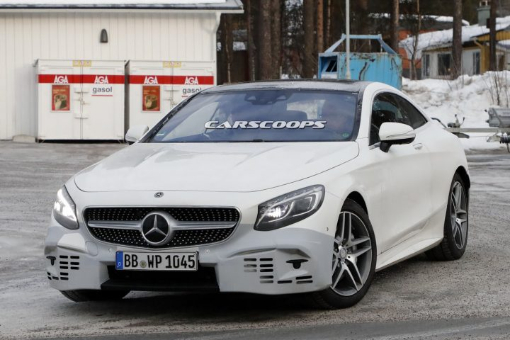 2018 Mercedes-Benz Klasy S Coupe