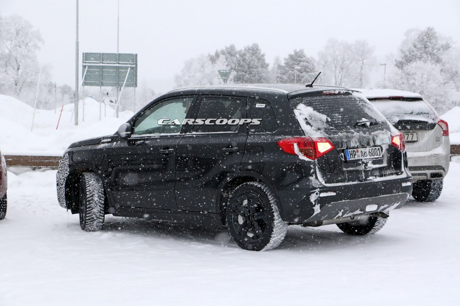 Suzuki Vitara 2018 facelift spy