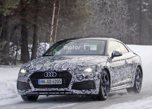 2017 Audi RS5 Spyshot