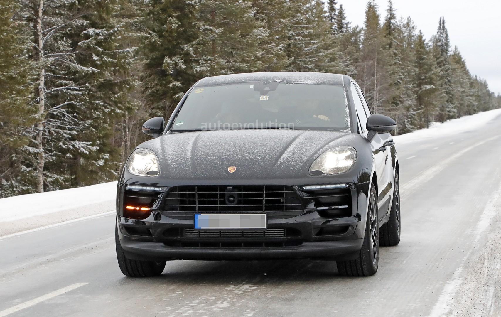 Porsche Macan 2018 Facelift