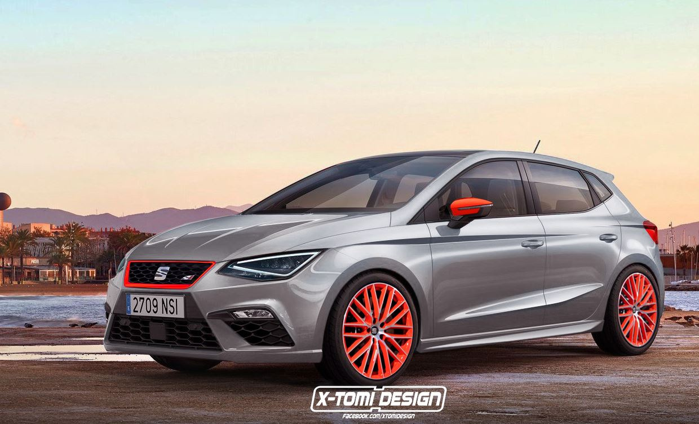 2018 SEAT Ibiza Cupra rendering