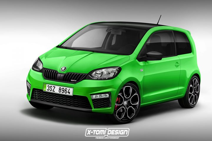 2017 Skoda Citigo RS Rendering