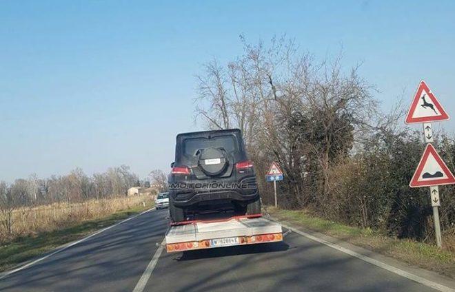 2019 Mercedes-Benz GLB spyshot