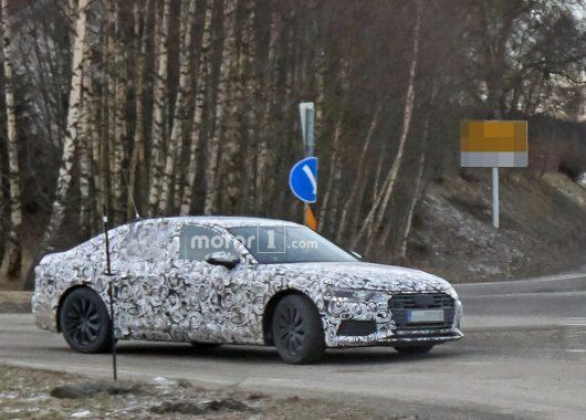 Audi A6 2019 spy