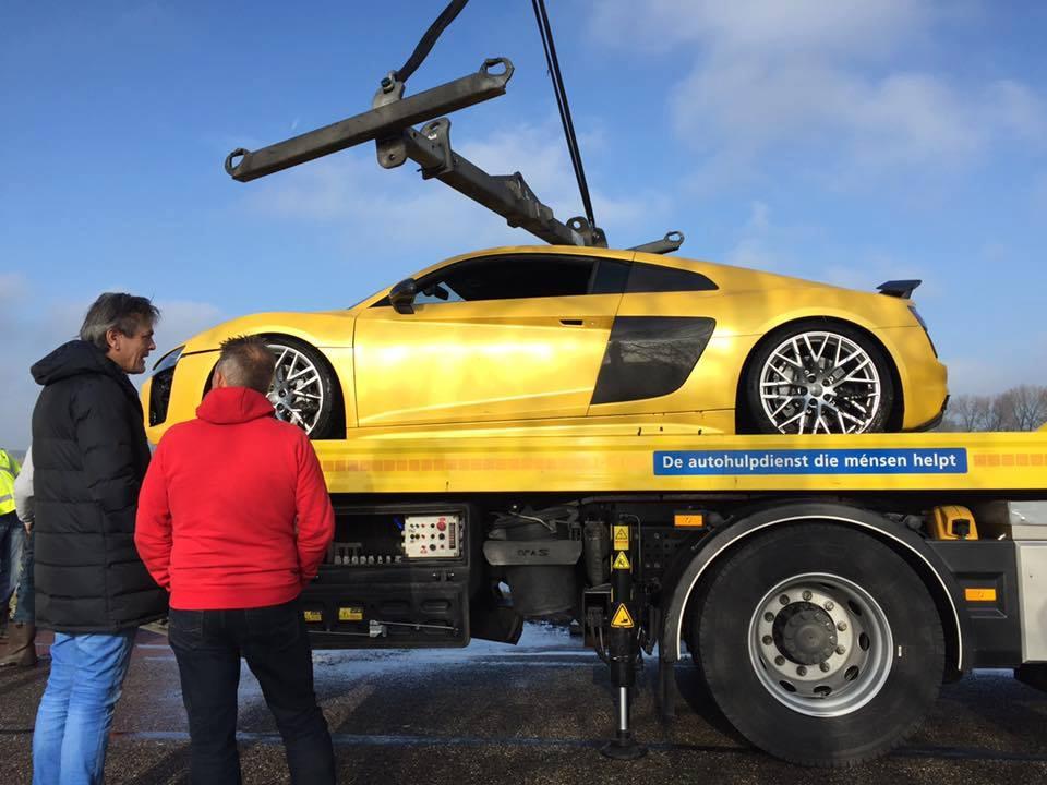 Zalane Audi R8