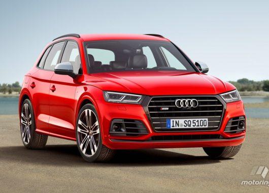 Audi SQ5 2018 rendering