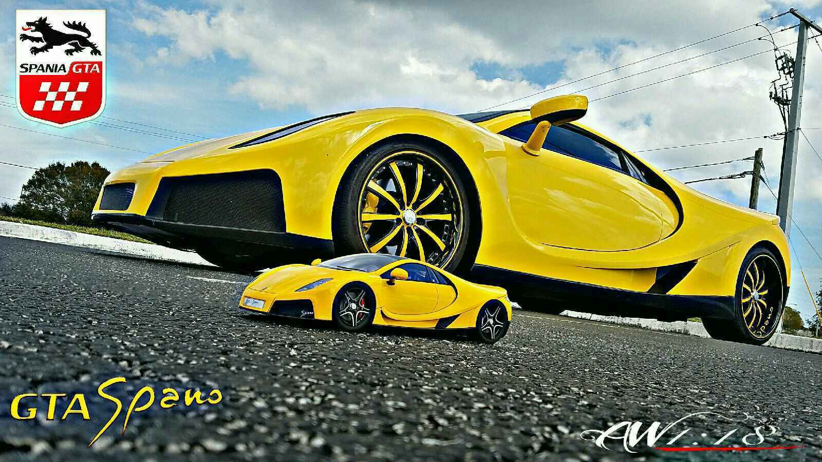 Need for Speed GTA Spano replika
