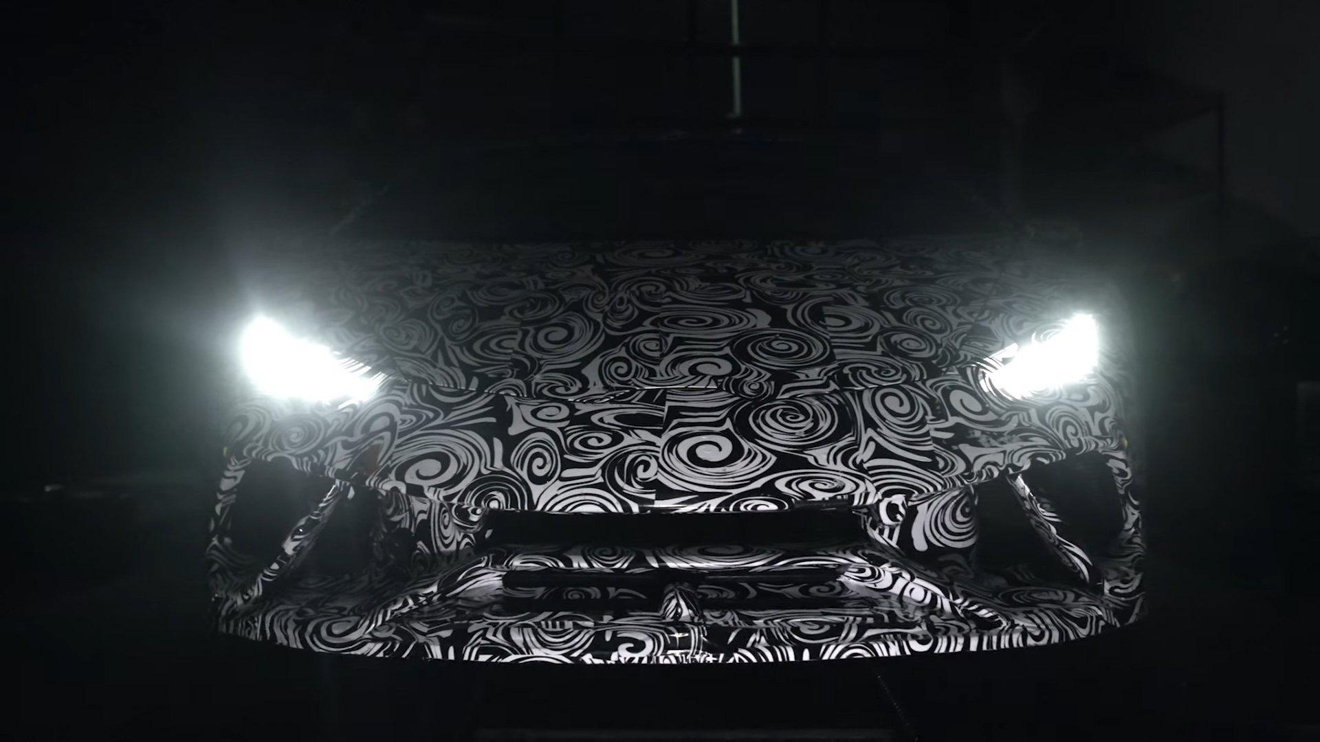 Lamborghini Huracan Performante teaser