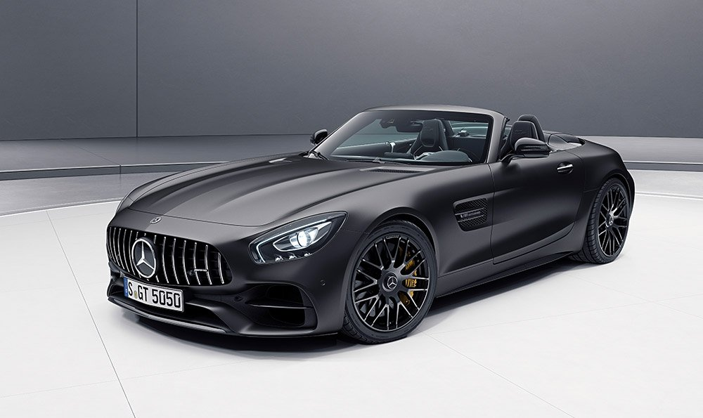 Mercedes-AMG GT C Roadster 50th Anniversary Edition