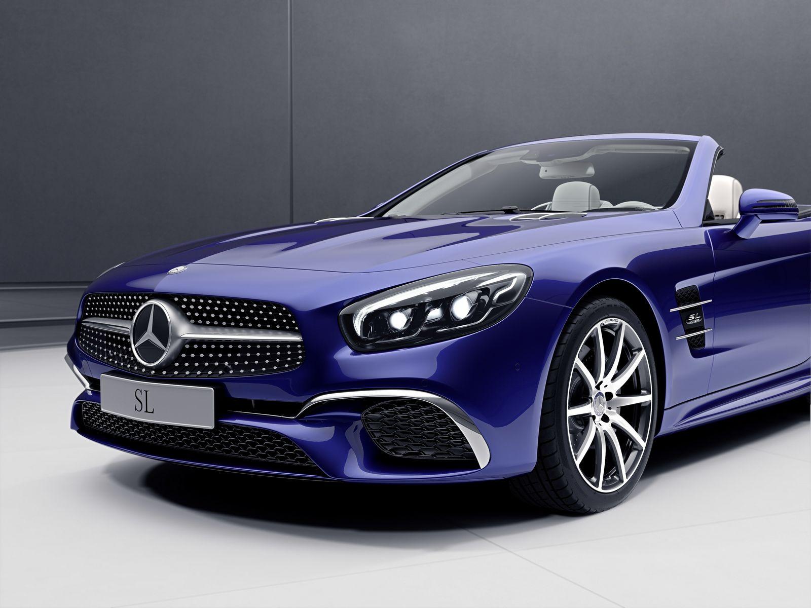 Mercedes-Benz SL Designo Edition