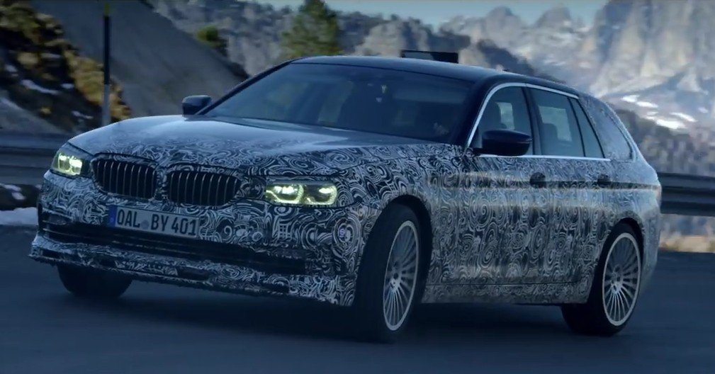 Alpina B5 Wagon 2018 spy