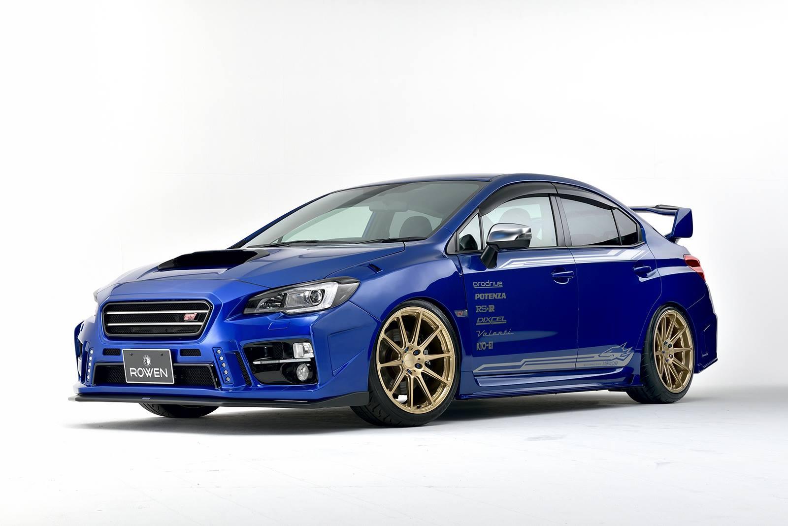 Subaru WRX STI Rowen