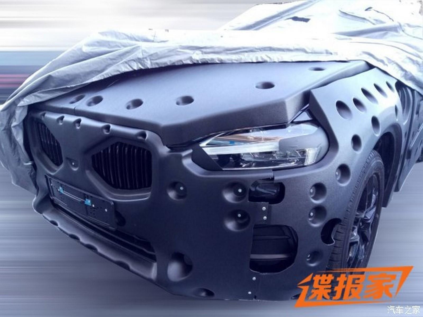Nowe Volvo XC60 2017 spy