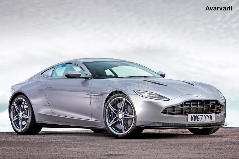 Aston Martin Vantage rendering