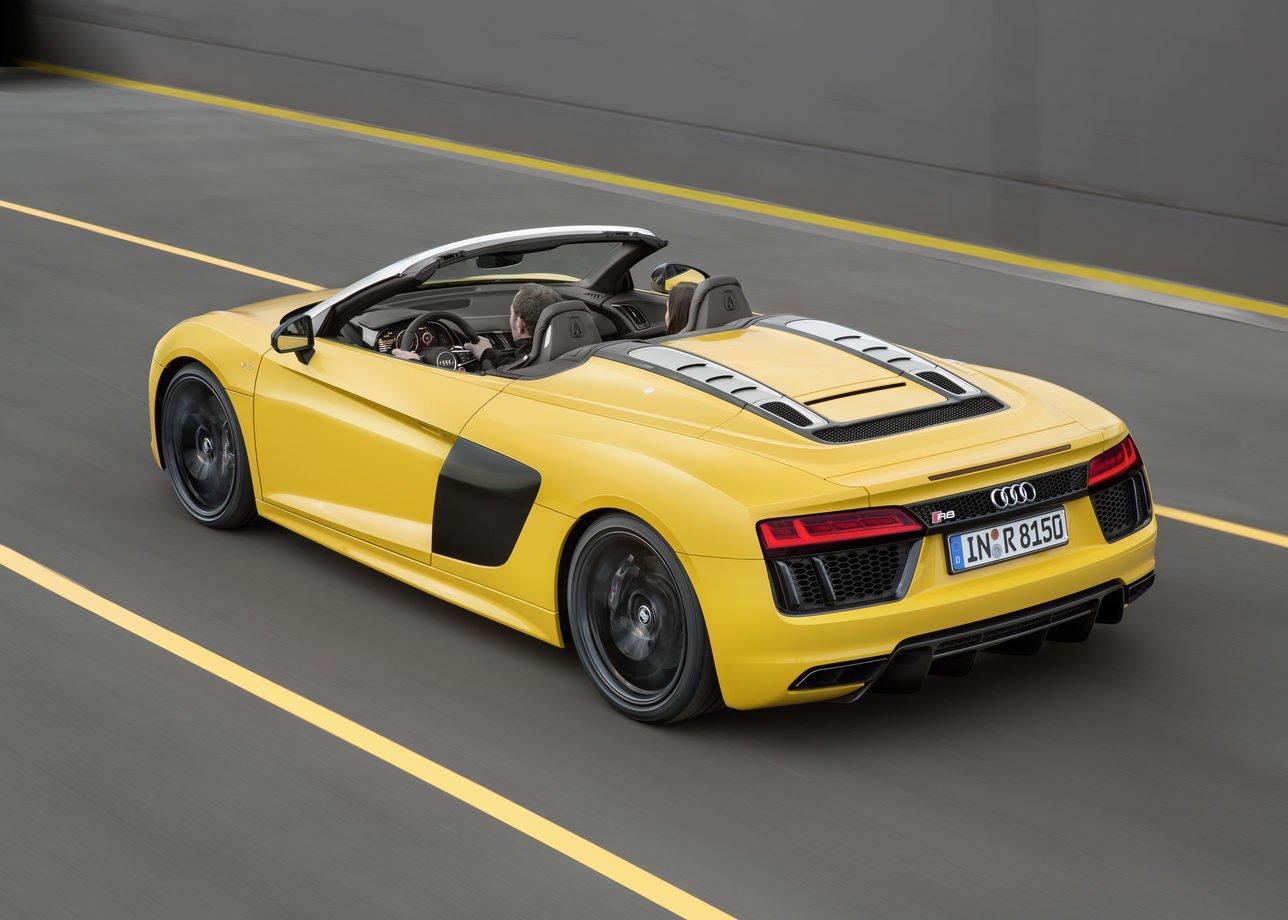 Audi R8 Spider 2016