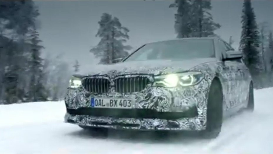 BMW Alpina B5 2017 spy