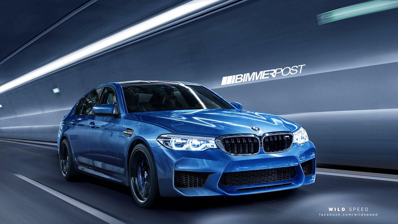 2017 BMW M5 F90 rendering