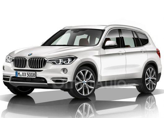 BMW X3 2018 rendering