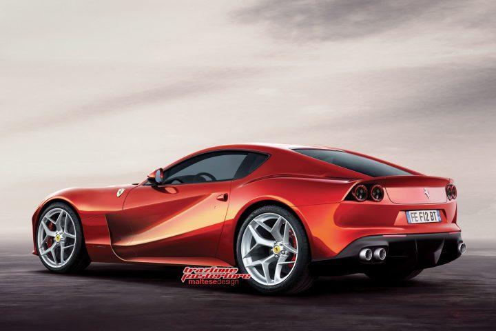 Ferrari F12M Rendering