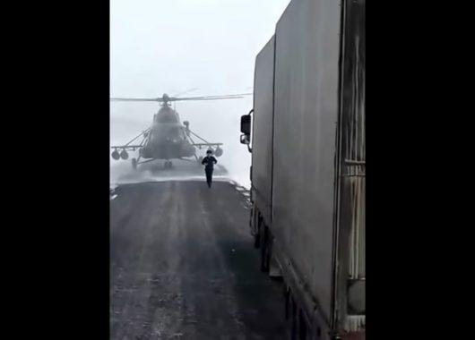 helikopter Kazachstan